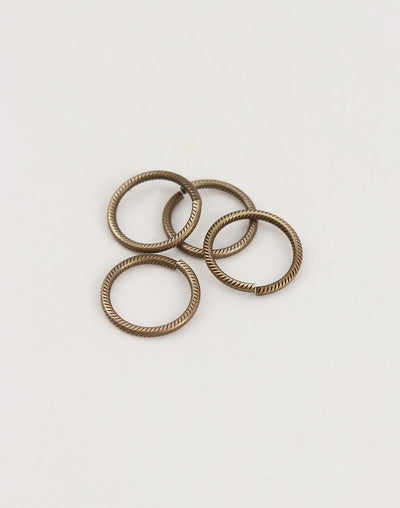 Cable Jump Ring, 15.25mm, 15ga, (4pcs)