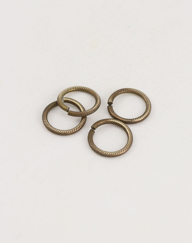 Cable Jump Ring, 14.25mm, 13ga , (4pcs)