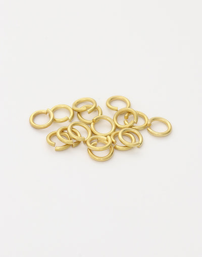 Smooth Jump Ring, 7.25mm, 16ga, (16pcs)