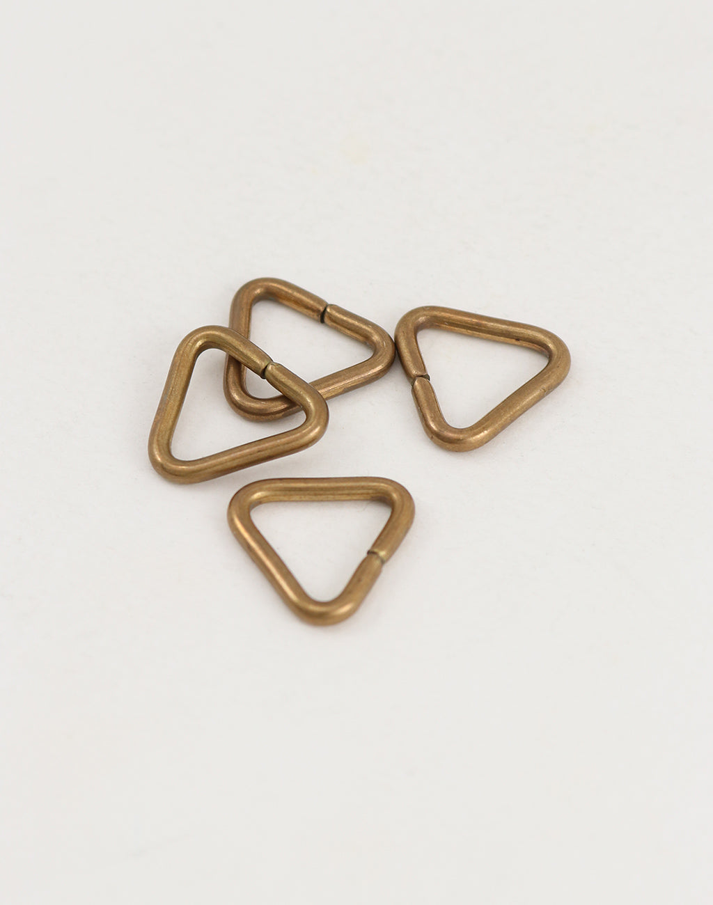 Triangle Jump Ring, 14.5mm, 12ga, (4pcs)