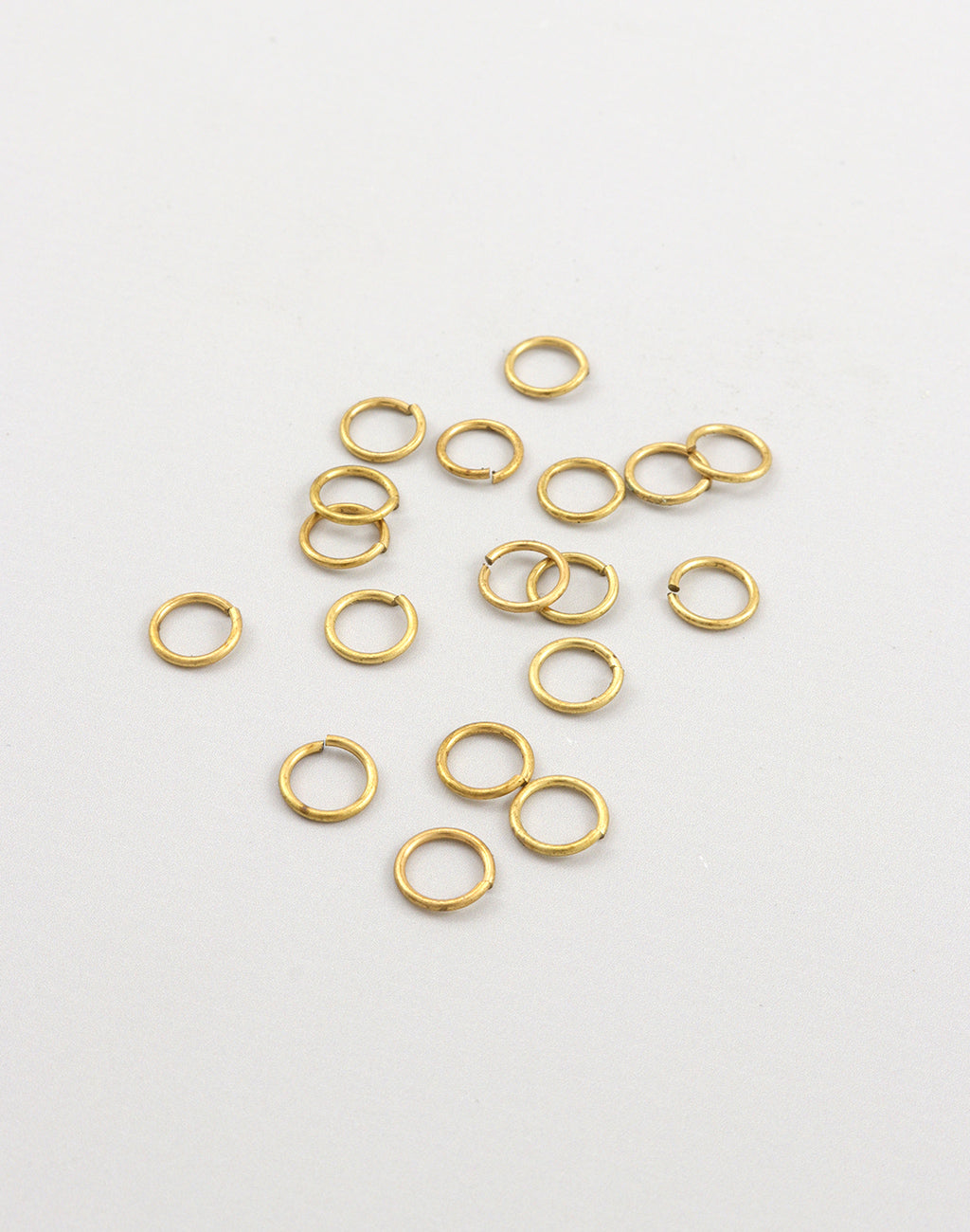 Smooth Jump Ring, 6mm, 21ga, (18pcs)