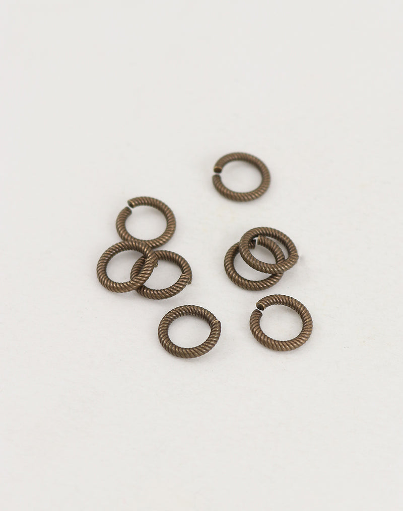 Cable Jump Ring, 9.25mm, 15ga, (8pcs)