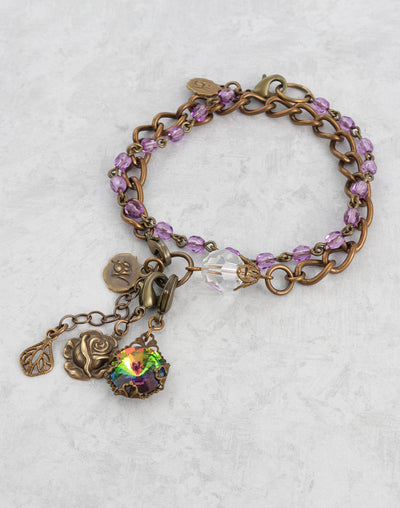 Rose Garden Glimmer Bracelet Interchangeable Set