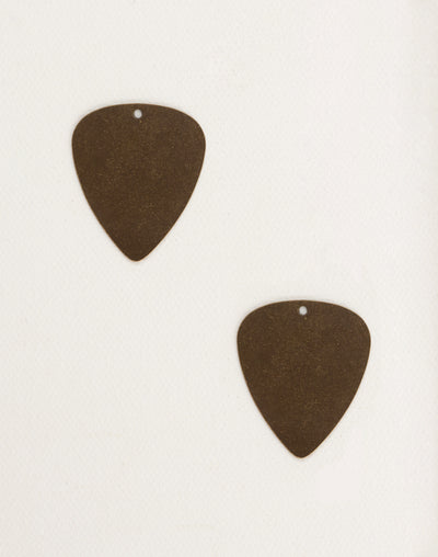 Guitar Pick, 31x26.5mm, (2pcs)