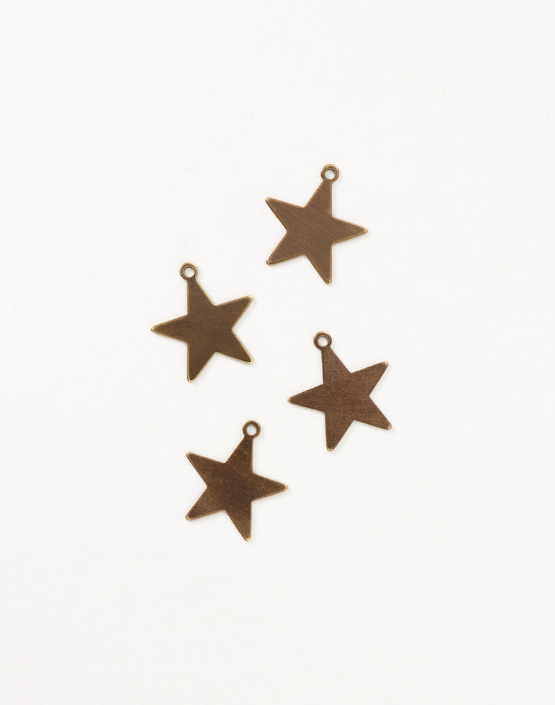 Tiny Artisan Star, 19mm, (4pcs)