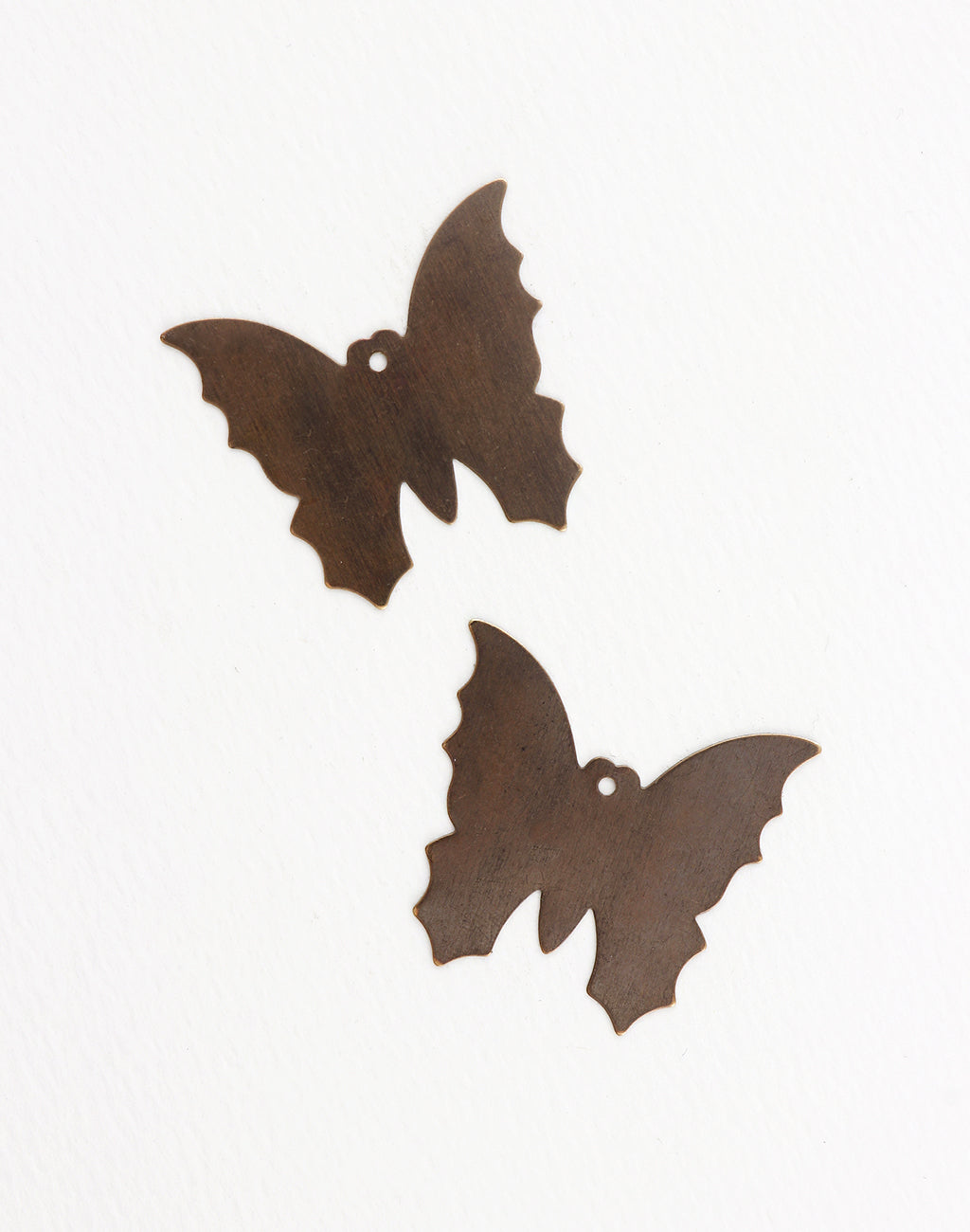 Monarch Butterfly, 34x32mm, (2pcs)