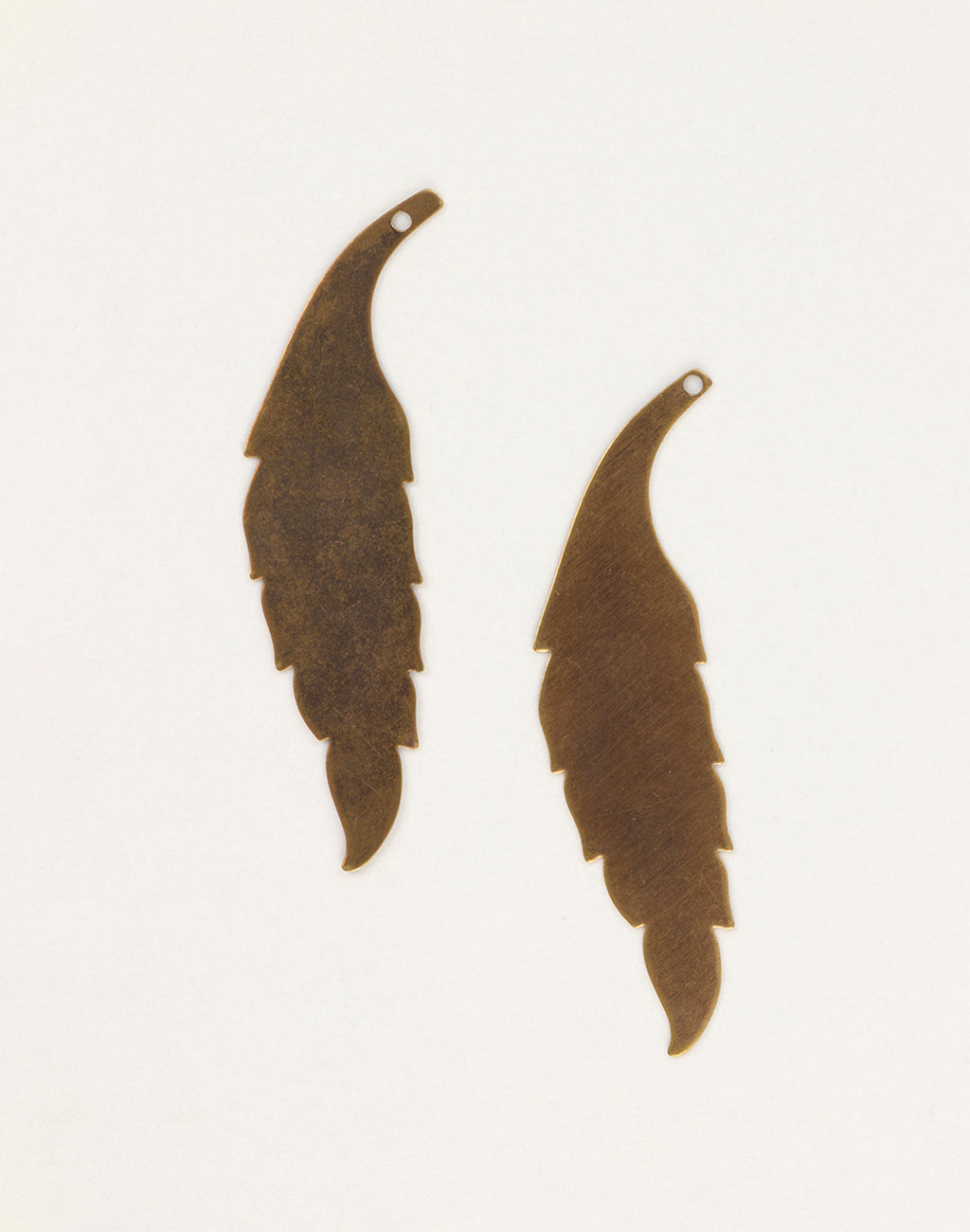 Slender Leaf, 60x15mm, (2pcs)