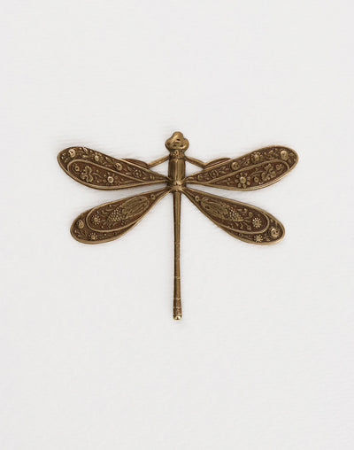 Ornate Dragonfly, 50x39mm, (1pc)