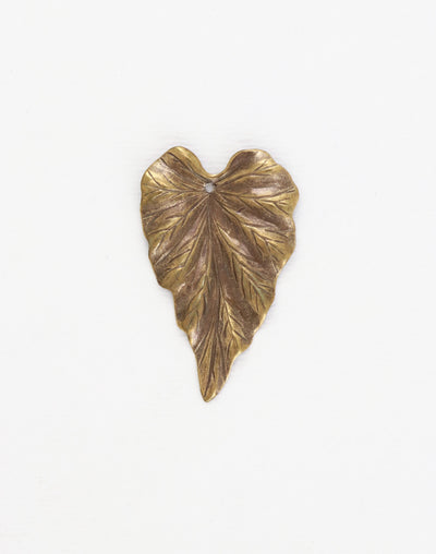Woodland Leaf, 38x23mm, (1pc)