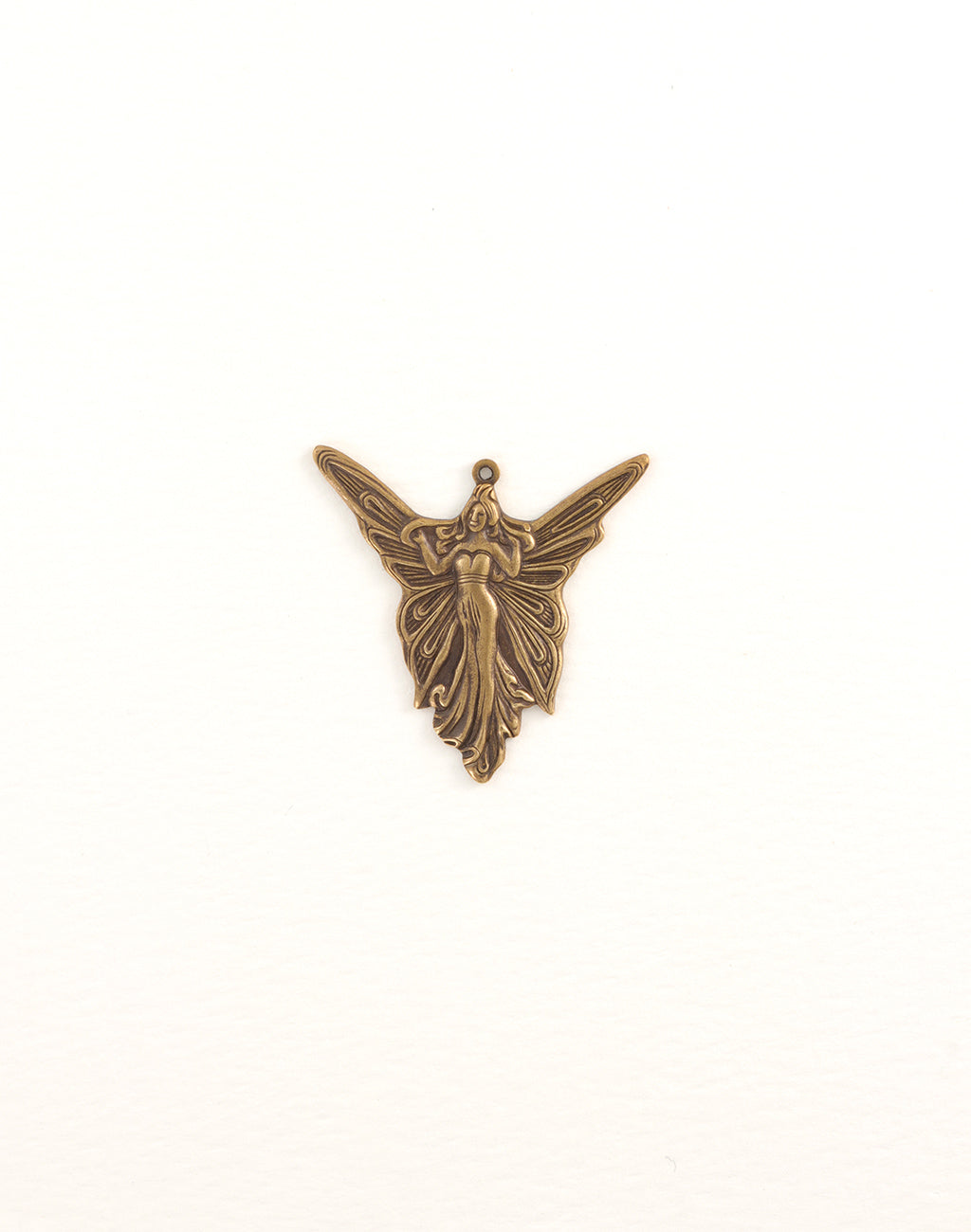 Art Deco Angel, 30x30mm, (1pc)