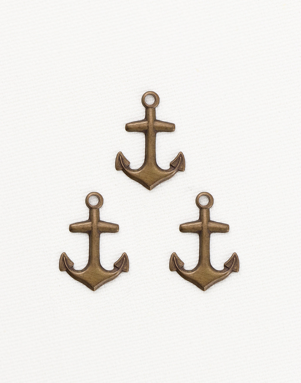 Nautical Anchor, 21x15mm, (3pcs)