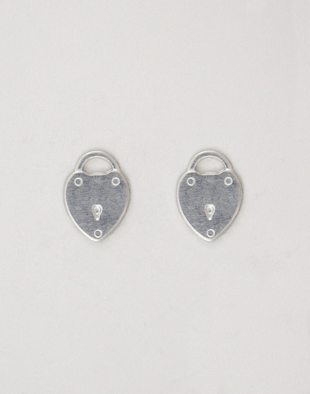 Locked Heart, 19x14mm , (2pcs)