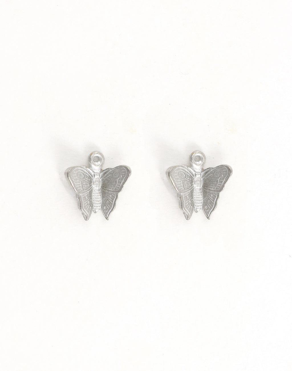 Fluttering Butterfly, 16x15mm, (2pcs)