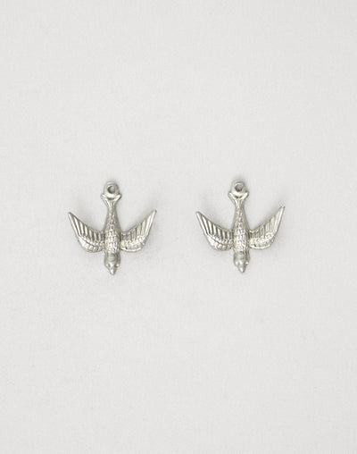 Downward Bird, 17mm, (2pcs)