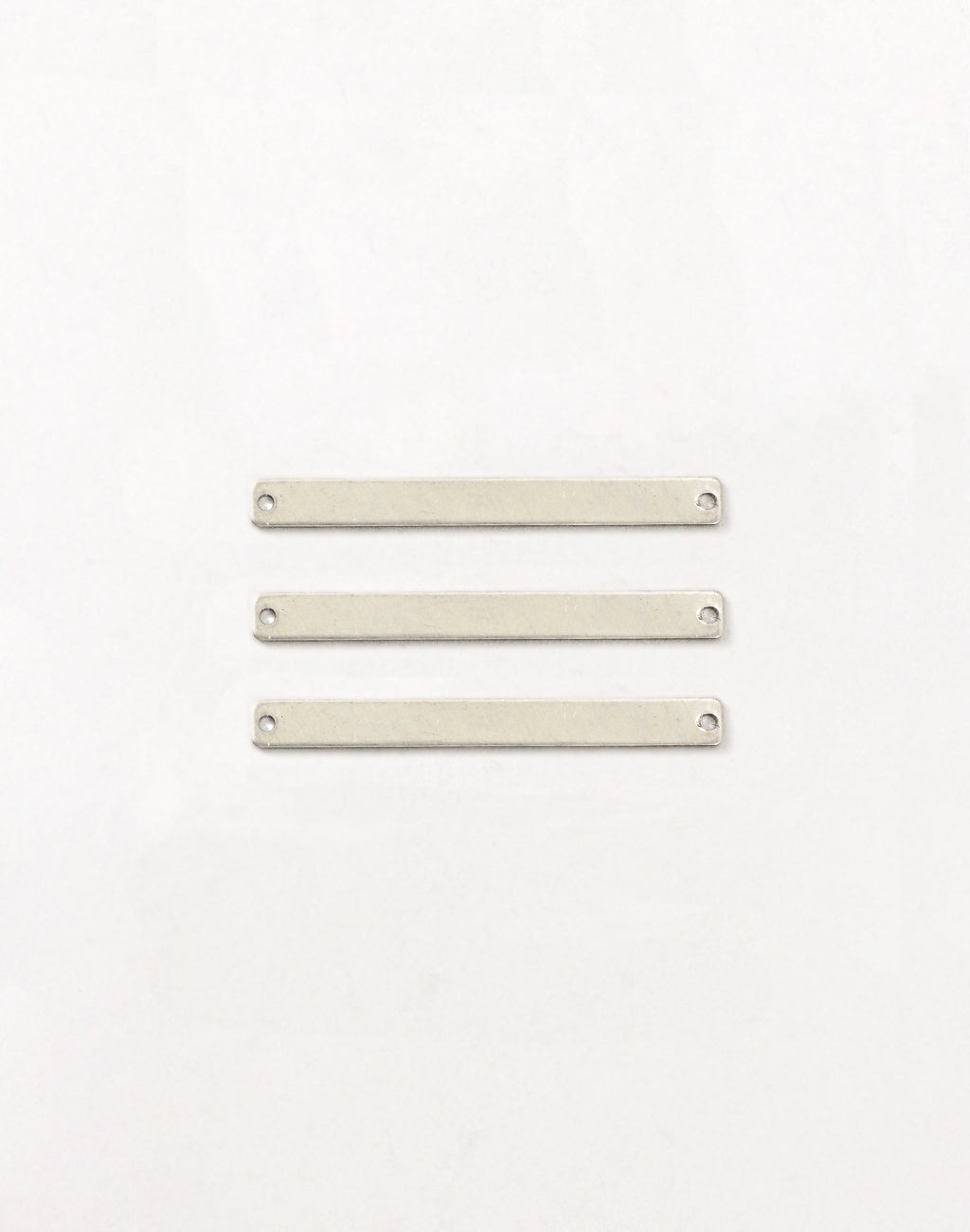 Rectangle, 41x4mm, 21ga, (3pcs)
