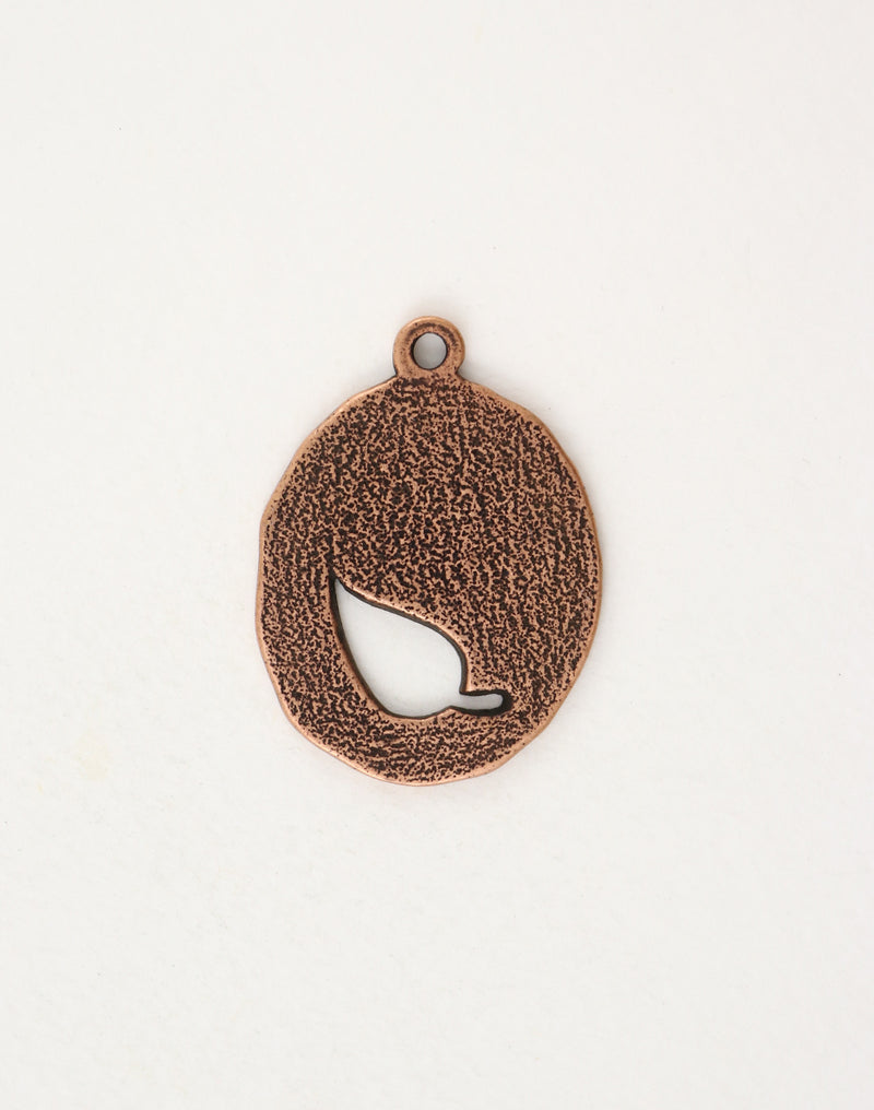 Oval Leaf, 36x26mm, (1pc)