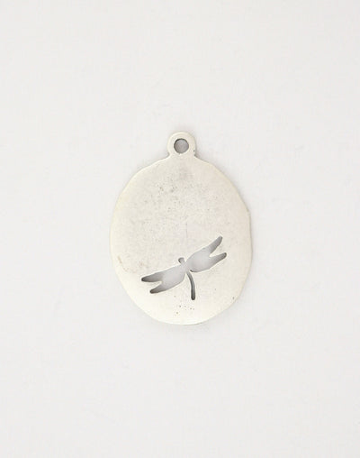 Oval Dragonfly, 36x26mm, (1pc)