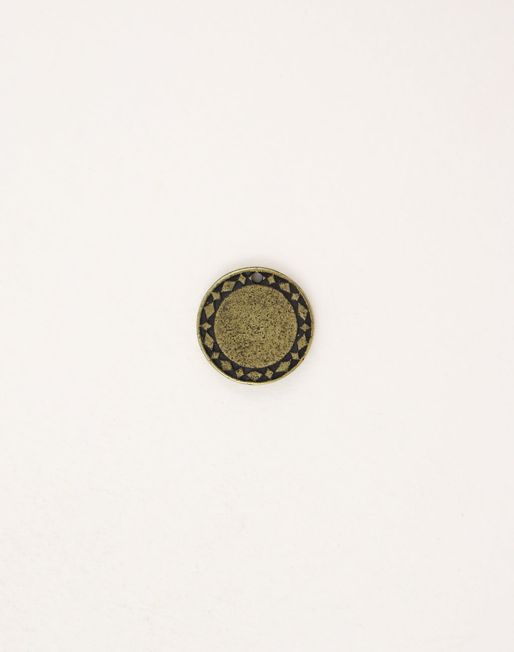 Diamond Circle, 15mm, (1pc)