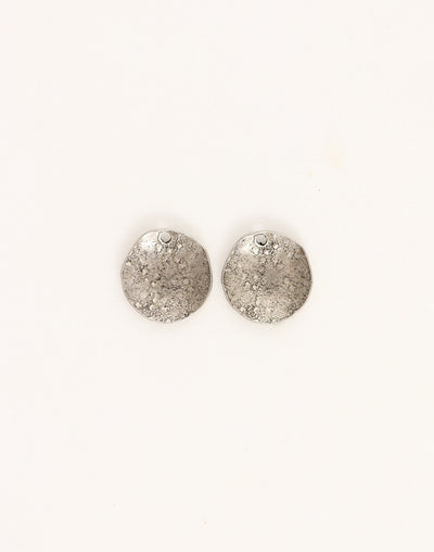 Dapped Circle, 14mm, (2pcs)