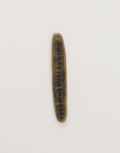 Skinny Oval, 49x8mm, (1pc)