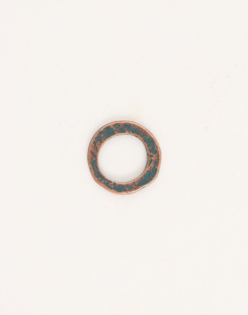 Hammered Ring, 20mm, (1pcs)