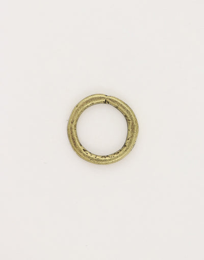 Heavy Hammered Ring, 23mm, (1pc)