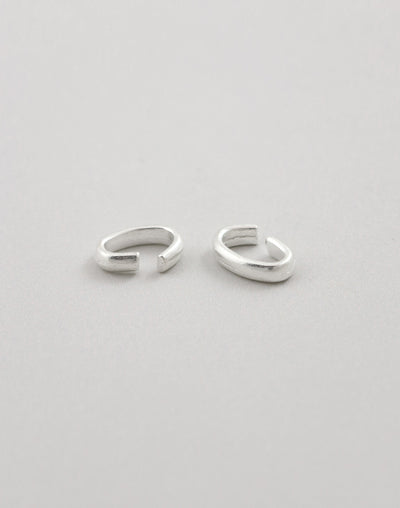 Oval Bail Link, 11x9mm, (2pcs)
