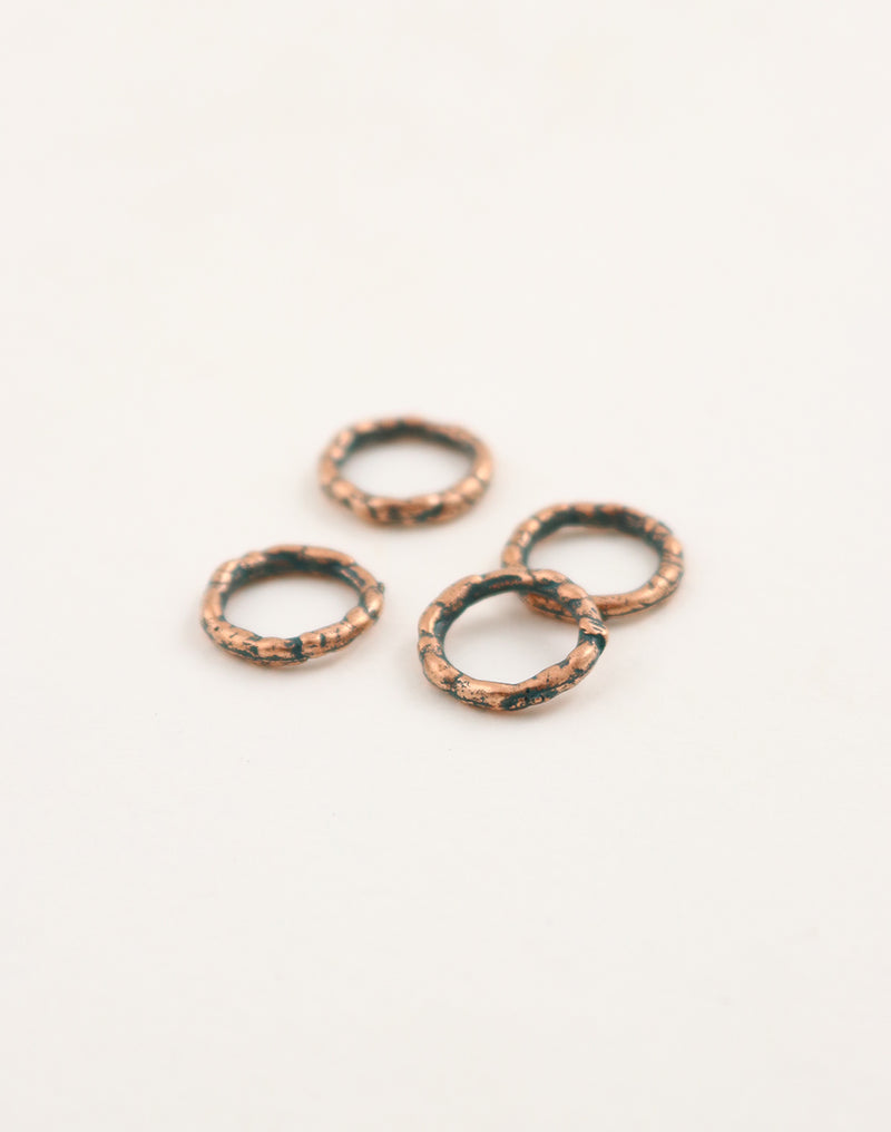 Organic Ring, 12mm, (4pcs)
