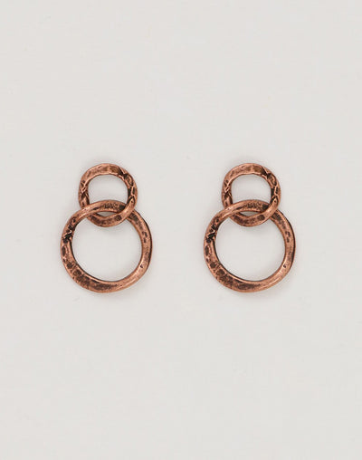 Linked Rings, 24x17mm, (2pc)