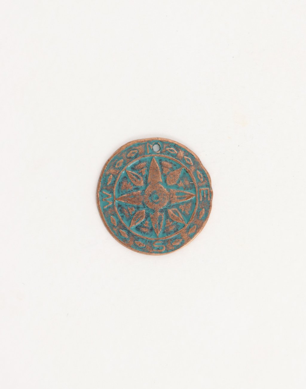 Weathered Compass, 26mm, (1pcs)