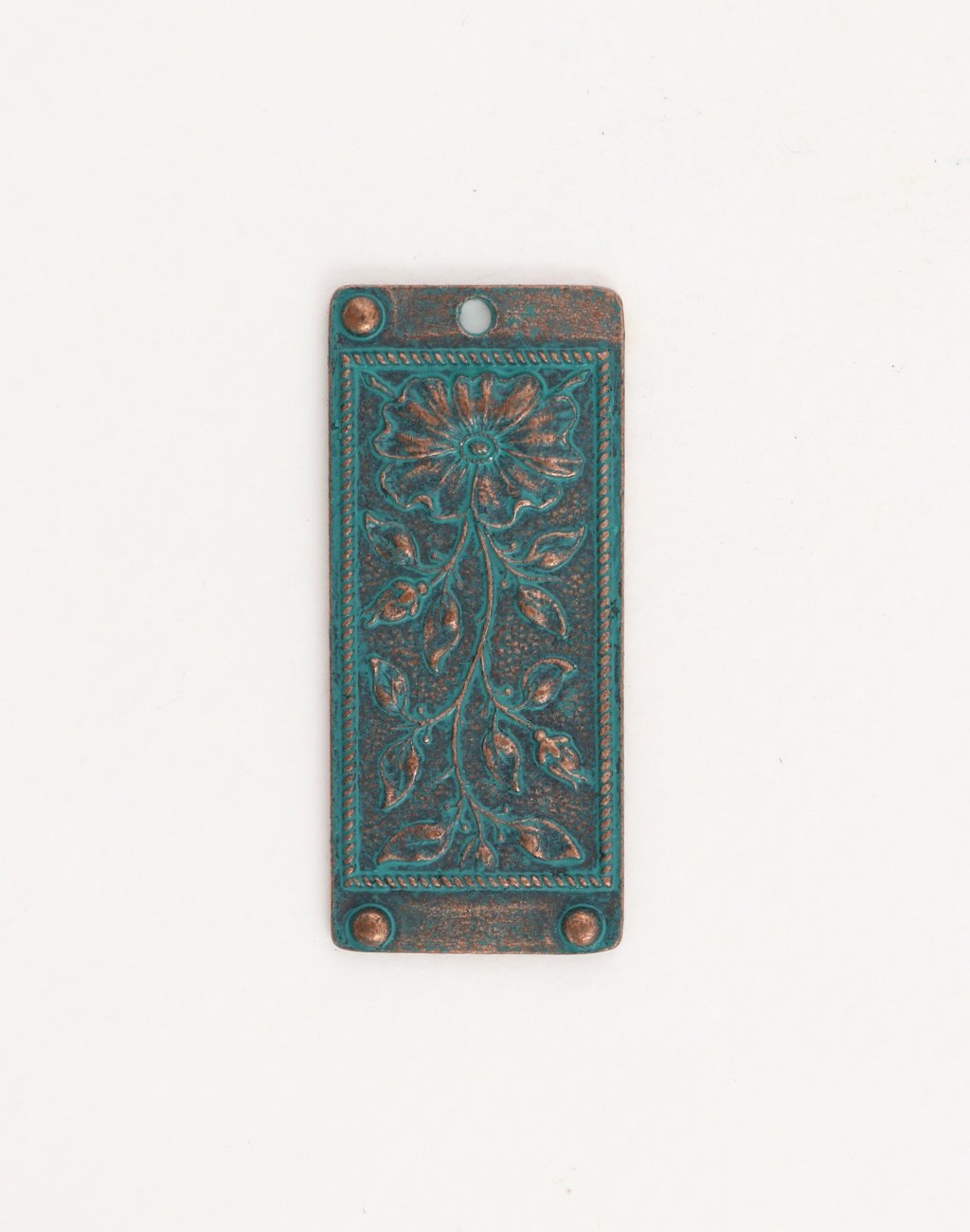 Floral Tapestry, 45x20mm, (1pc)