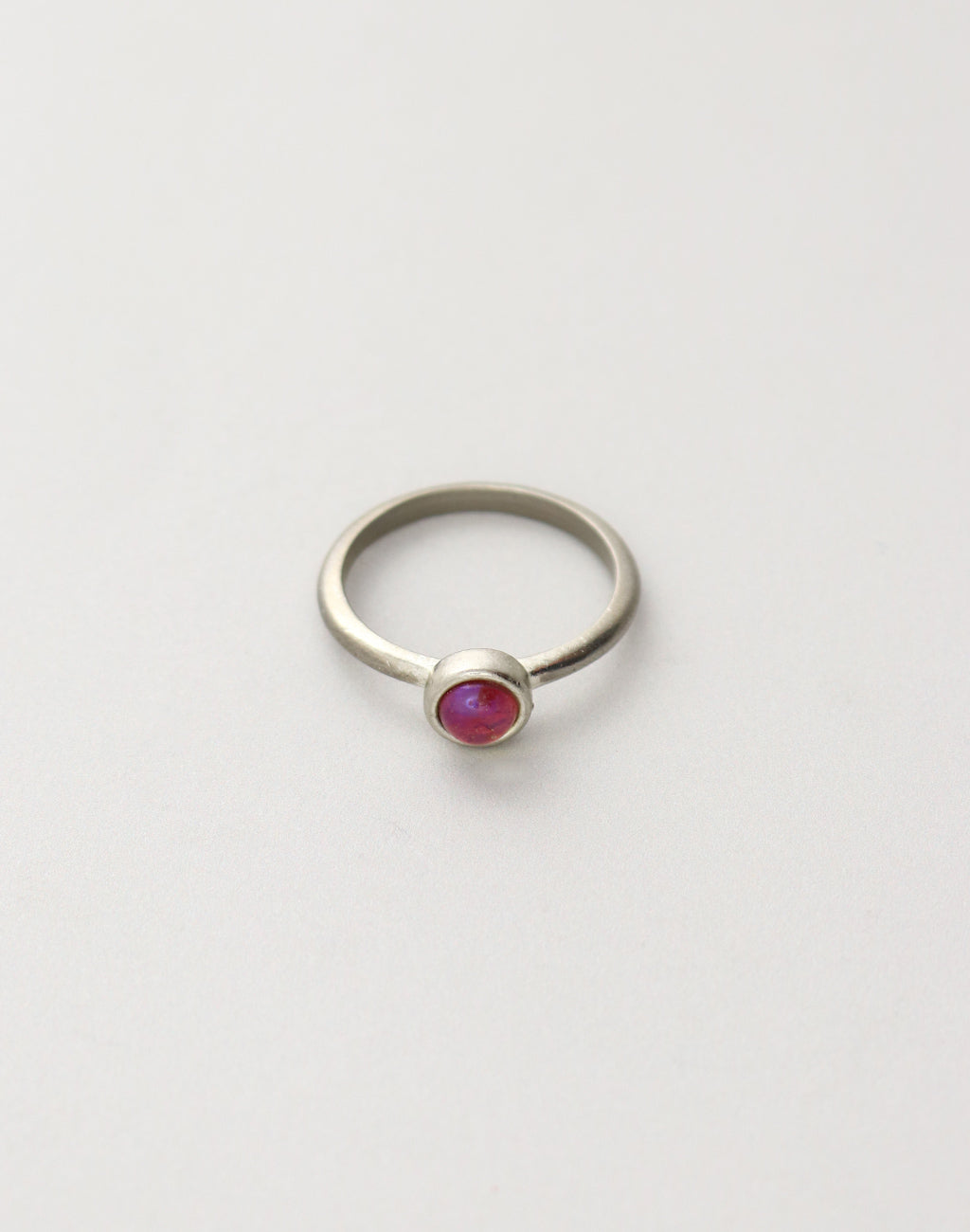 Fire opal Ring, size 8, (1pc)