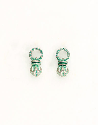 Bead Drop, 19x8mm, (2pcs)