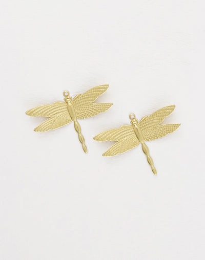 Patterned Wings, 27.5x36mm, (2pcs)