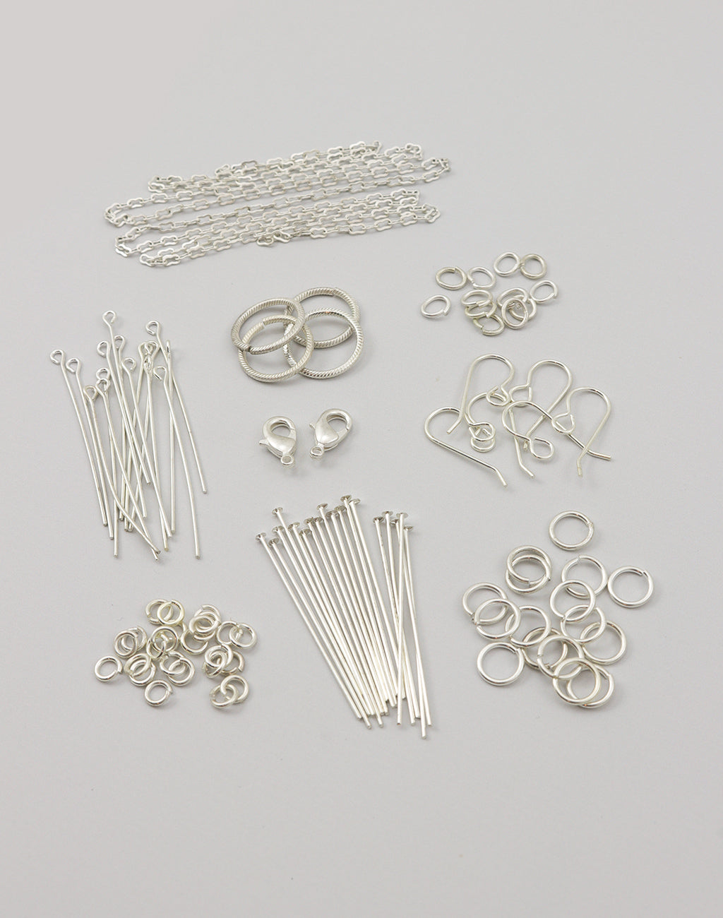 Sterling Silver Basics Findings Kit