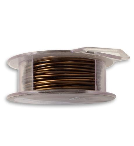 Vintaj Natural Brass Wire, 16 GA, (15 ft)