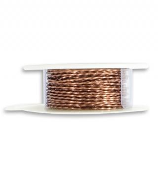Artisan Copper Wire, Twisted, 21 GA, (15 ft)