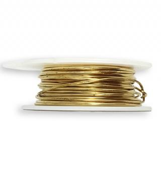 Solid Brass Wire, 18 GA, (30 ft)