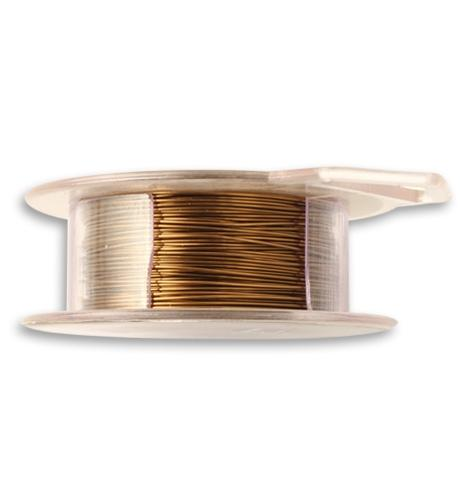 Natural Brass Wire, 24 GA, (90 ft)