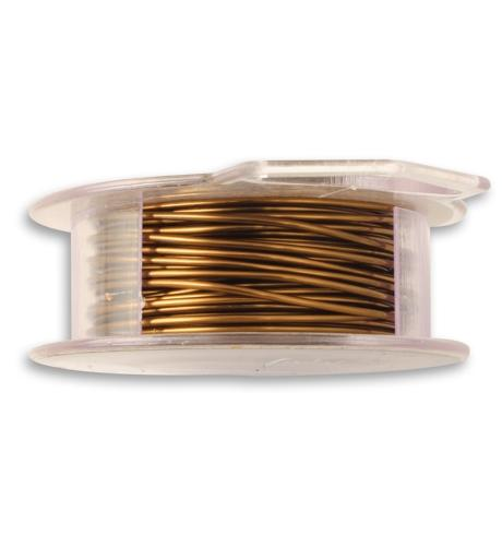 Natural Brass Wire, 18 GA, (30 ft)