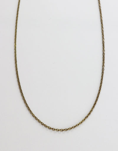 Fine Cable Necklace, (1pc)