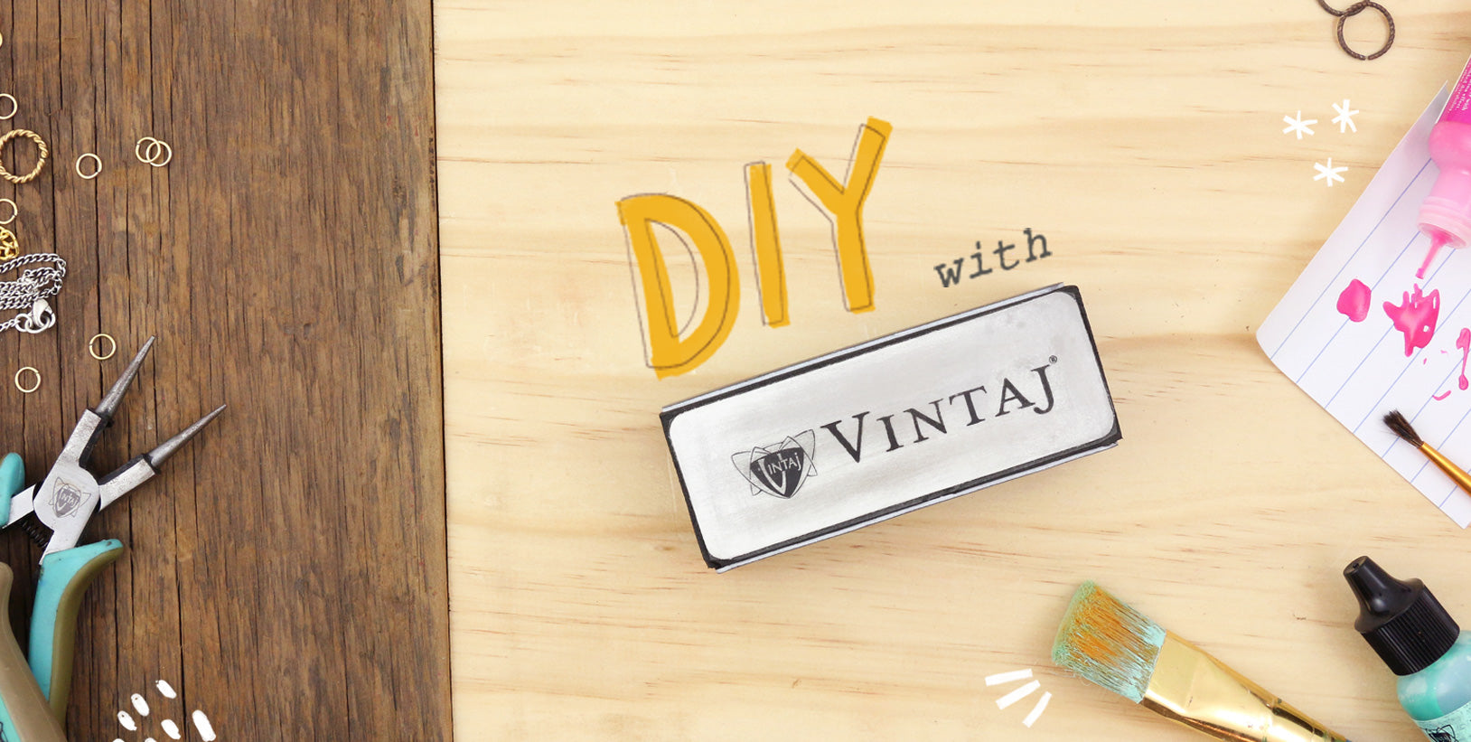 DIY with Vintaj