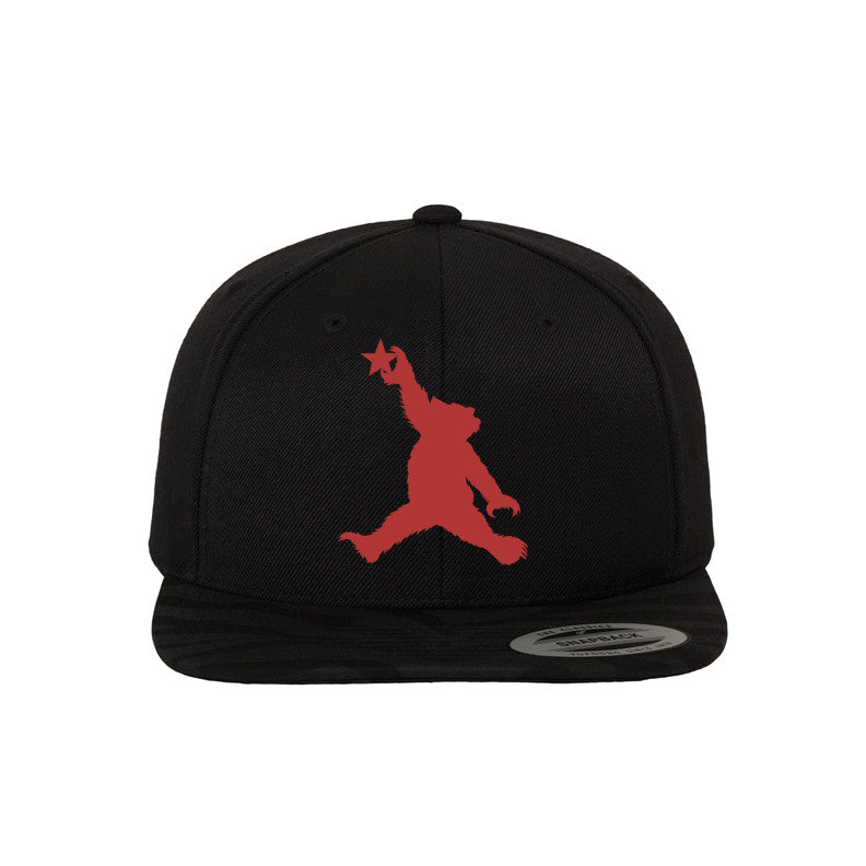 Cali Bear (Red) Snapback