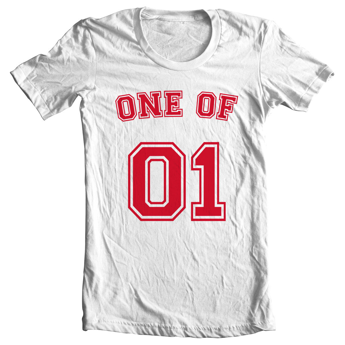 One Of One jersey style t-shirt