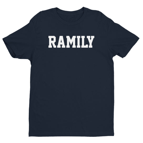 RAMILY Short Sleeve T-shirt with White print