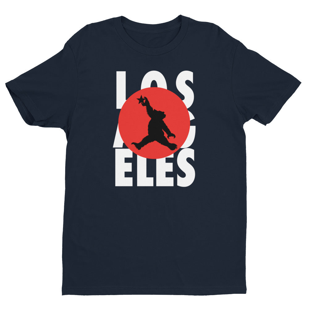 Los Angeles Moonshot Bear Short Sleeve T-shirt