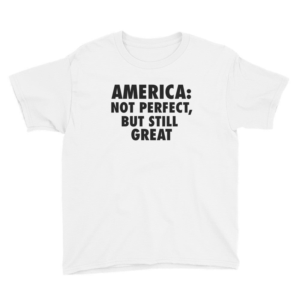 America: Still Great! (black print) Youth Short Sleeve T-Shirt