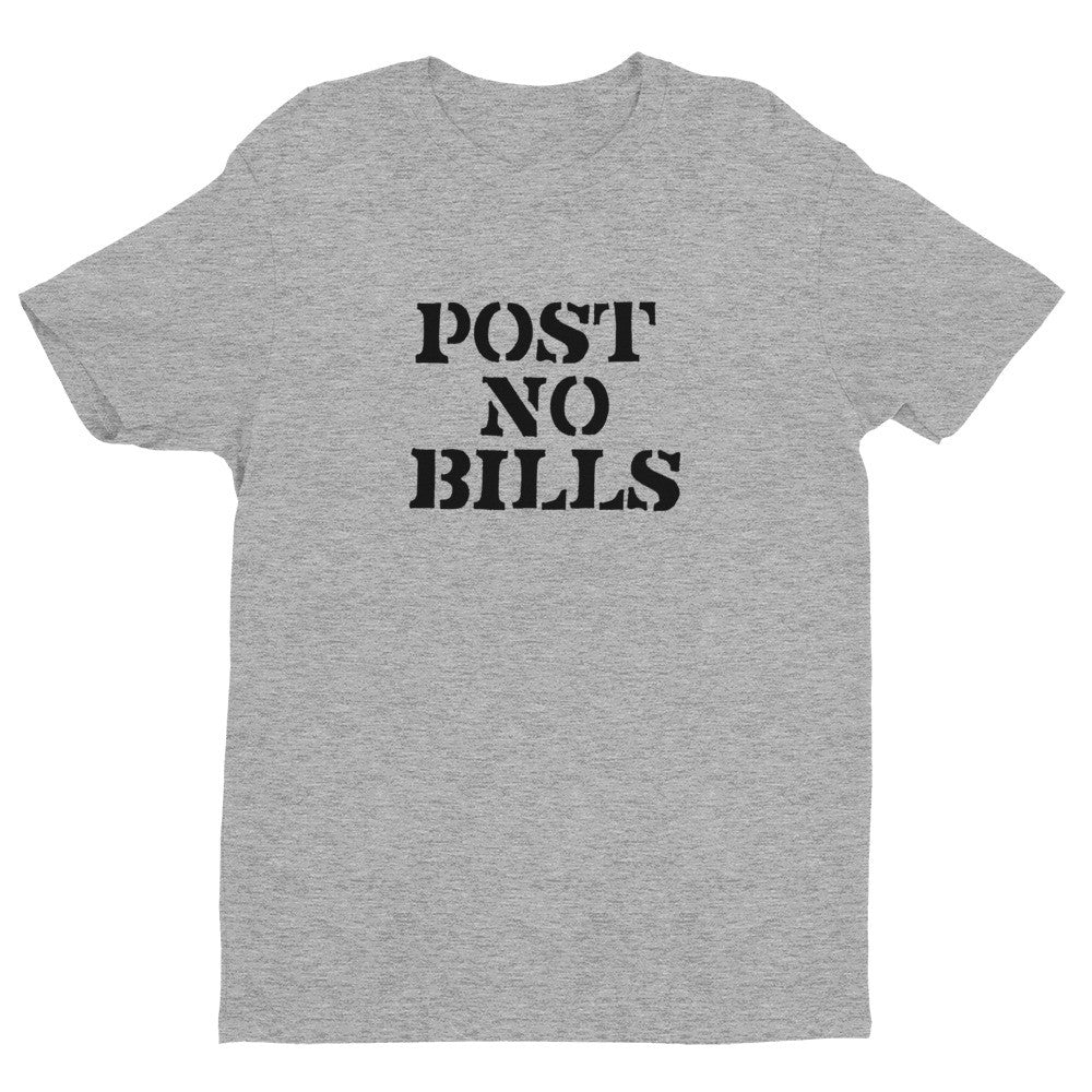 Short sleeve Post No Bills men's t-shirt
