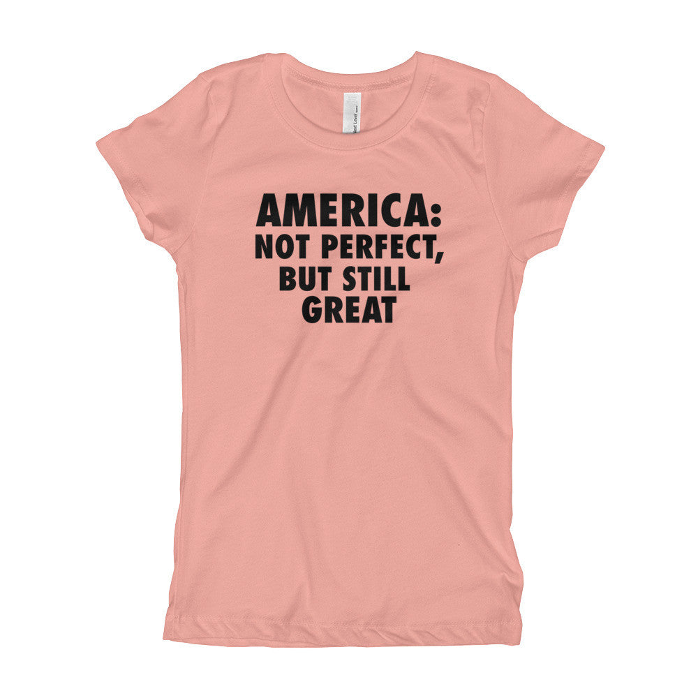 America: Still Great! (black print) Girl's T-Shirt