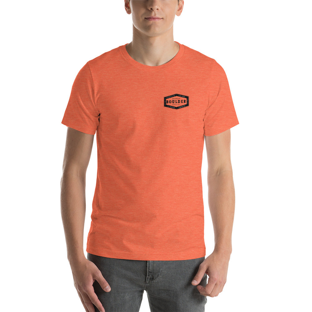 Boulder Supply Company Forged From Dirt Short-Sleeve Unisex T-Shirt